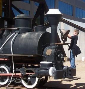 Baby Gauge Locomotive - photo courtesy of www.miningmineralmuseum.com