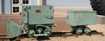 Red Rover Mucker - photo courtesy of www.miningmineralmuseum.com