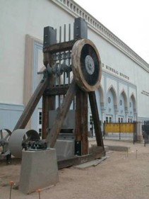 The Swallow Mine Stamp Mill - photo courtesy of www.miningmineralmuseum.com